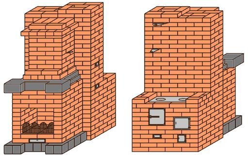 Кирпичная пятиэтажка 56 го года конструктивная схема.