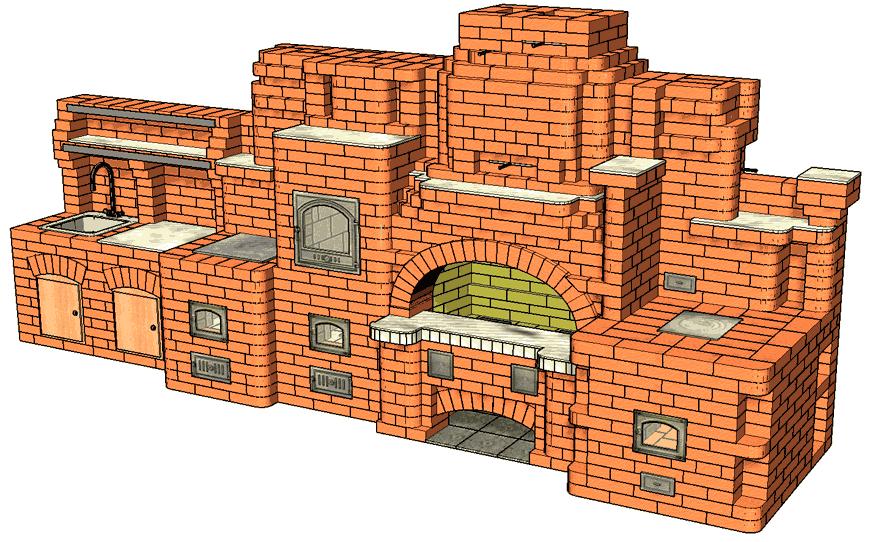 №247 Барбекю-комплекс